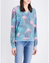 Wildfox Couture Miami Palms jersey sweatshirt