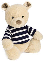 Jellycat Breton Teddy Bear Soft Toy, One Size, Beige