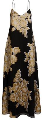 MARIE FRANCE VAN DAMME Floral Print Dress