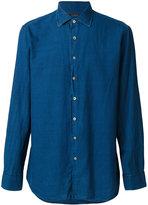Lardini classic collar shirt