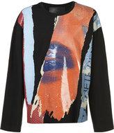 Juun.J long sleeve T-shirt - men - Cotton/Rayon - 44