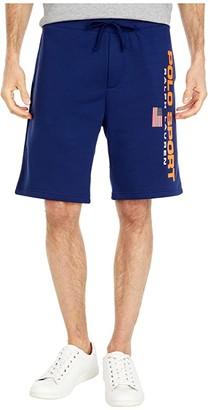 Polo Ralph Lauren Fleece Shorts (Bright Pear) Men's Shorts