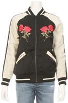 Capulet Marfa Rose Souvenir Bomber Jacket