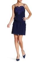 Vivienne Tam Tape Embroidery Slip Dress
