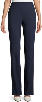 Ralph Lauren Collection Alandra Straight-Leg Wool Pants