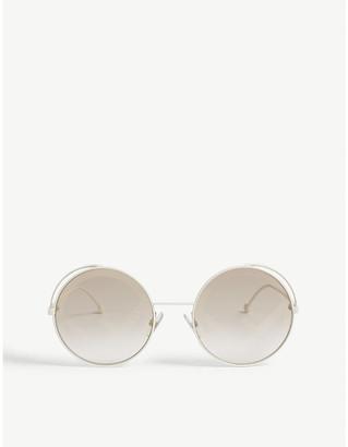 Fendi FF0343 round-frame sunglasses