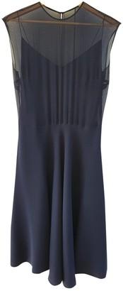 Ralph Lauren Purple Label Blue Silk Skirt for Women