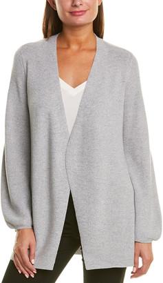 Eileen Fisher Sparkle Wool-Blend Cardigan