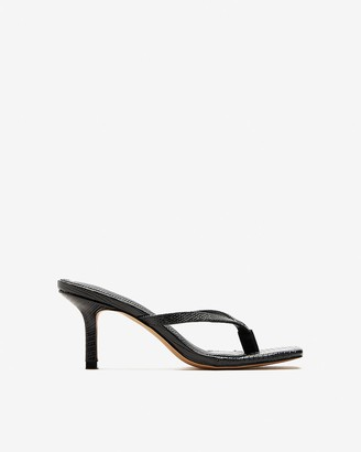 Express Square Toe Heeled Sandals