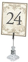 """Lillian Rose 1 to 24 Table Numbers, 4 x 5.25"""", Gold"""
