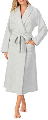 Eileen West Diamond Quilt Wrap Robe