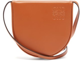 Loewe Heel Small Leather Pouch - Tan