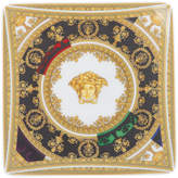 Versace Baroque and Roll Square Dish - 15cm