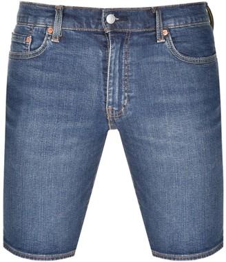 Levi's Levis 511 Slim Fit Hemmed Denim Shorts Navy