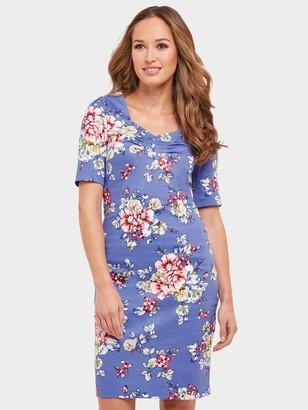 Joe Browns Romantic Summer Dress - Blue