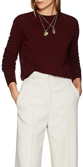 The Row Women's Minkia Cashmere Crewneck Sweater - New Brick