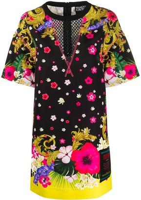 Versace Mesh Panel Dress