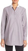 Nordstrom Brunswick Stripe Cotton Blouse