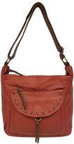 ST. JOHN'S BAY St. John's Bay Washed Flap Pocket Hobo Bag