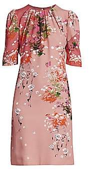 Givenchy Women's Floral Balloon-Sleeve Dress