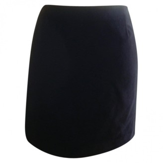 Versus Black Velvet Skirt for Women