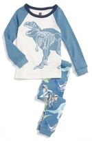 Tea Collection Toddler Boy's Middle Jurassic Two-Piece Fitted Pajamas