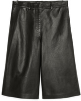 Arket Leather Culottes