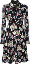 Valentino Popflower print shirt dress