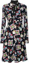 Valentino Popflower print shirt dress