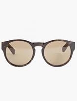 Dries Van Noten Graphic Tortoiseshell Keyhole Sunglasses