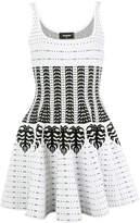 DSQUARED2 geometric skater dress