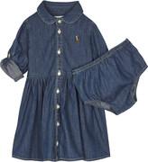 Ralph Lauren Denim dress & underwear set 6-24 months