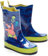 SpongeBob Squarepants Blue Rain Boot - Toddle & Boys