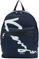 Kenzo Signature backpack - men - PVC - One Size