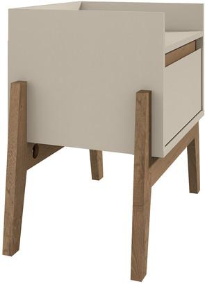 Manhattan Comfort Essence 1-Full Extension Drawer Nightstand