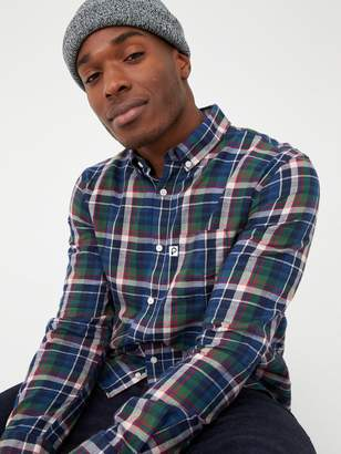 Penfield Barrhead Brushed Check Shirt - Multi-Coloured Check