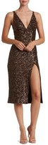 Dress the Population Camilla Sequin Midi Dress