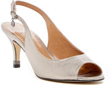J. Renee Gardenroad Slingback Peep Toe Pump - Wide Width Available
