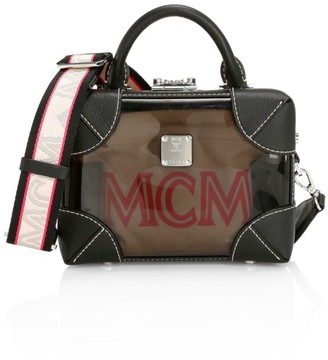 MCM Soft Berlin Transparent Box Bag