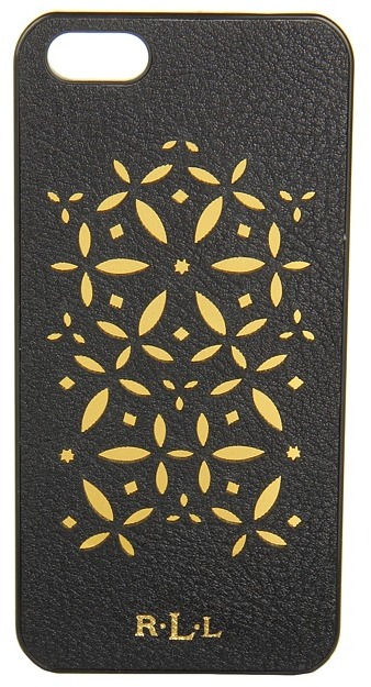 Lauren Ralph Lauren Chantilly Case for Iphone 5 (Black) - Bags and Luggage