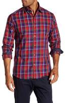 Stone Rose Fil Coupe Plaid Regular Fit Shirt