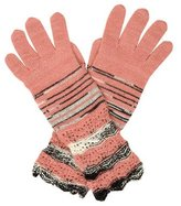 Missoni Multicolor Knit Gloves