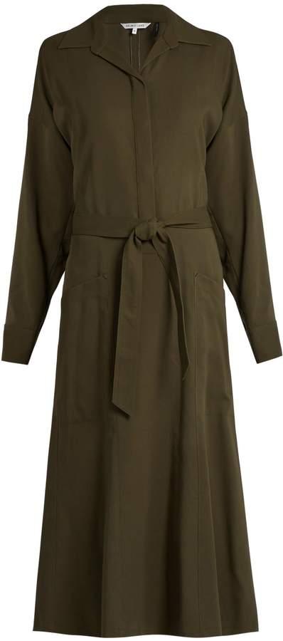 Helmut Lang Patch pocket cotton dress