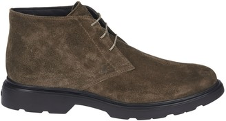 Hogan Desert H393 Shoes In Mud-colored