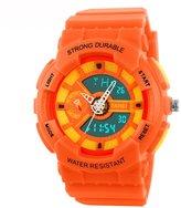 Fanmis Women's Men's Sporty Design Multifunctional Analog Digital Waterproof Wrist Watch