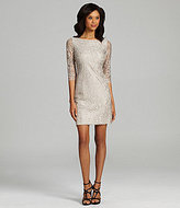 Calvin Klein Metallic Lace Dress