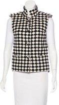 Chanel Wool Patterned Vest