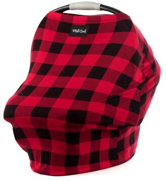 Milk Snob Multi Use Baby Car Seat Cover Lumberjack