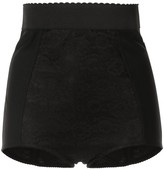 Dolce & Gabbana high rise lace shorts