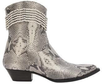 Chiara Ferragni Crystal cowboy boots